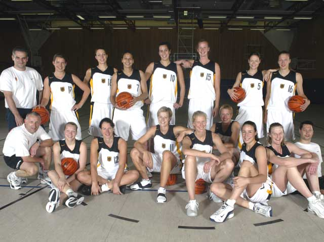 Team Germany Women 2004
